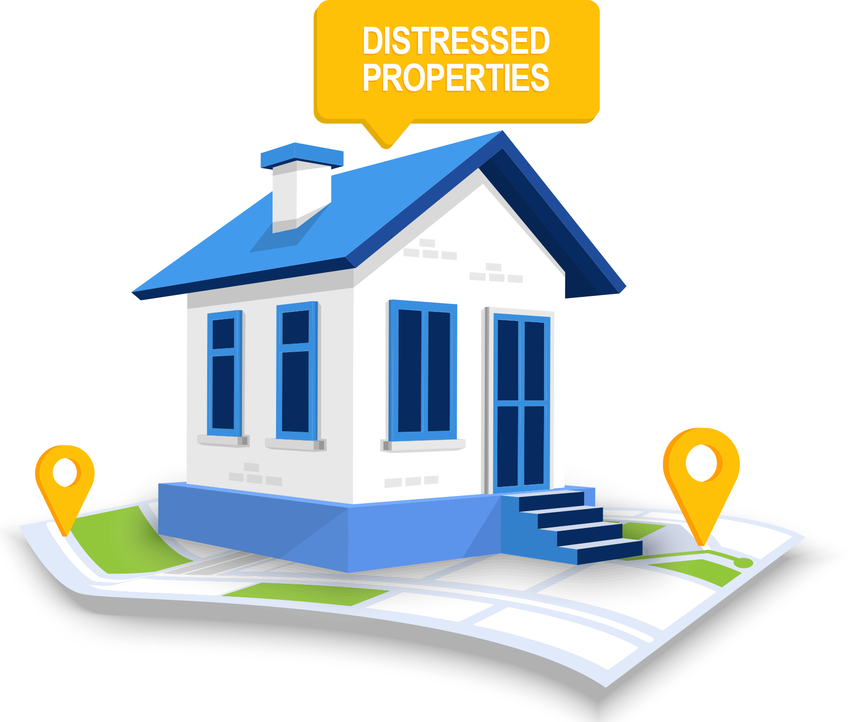 distressed home property lead lists for sale realtors