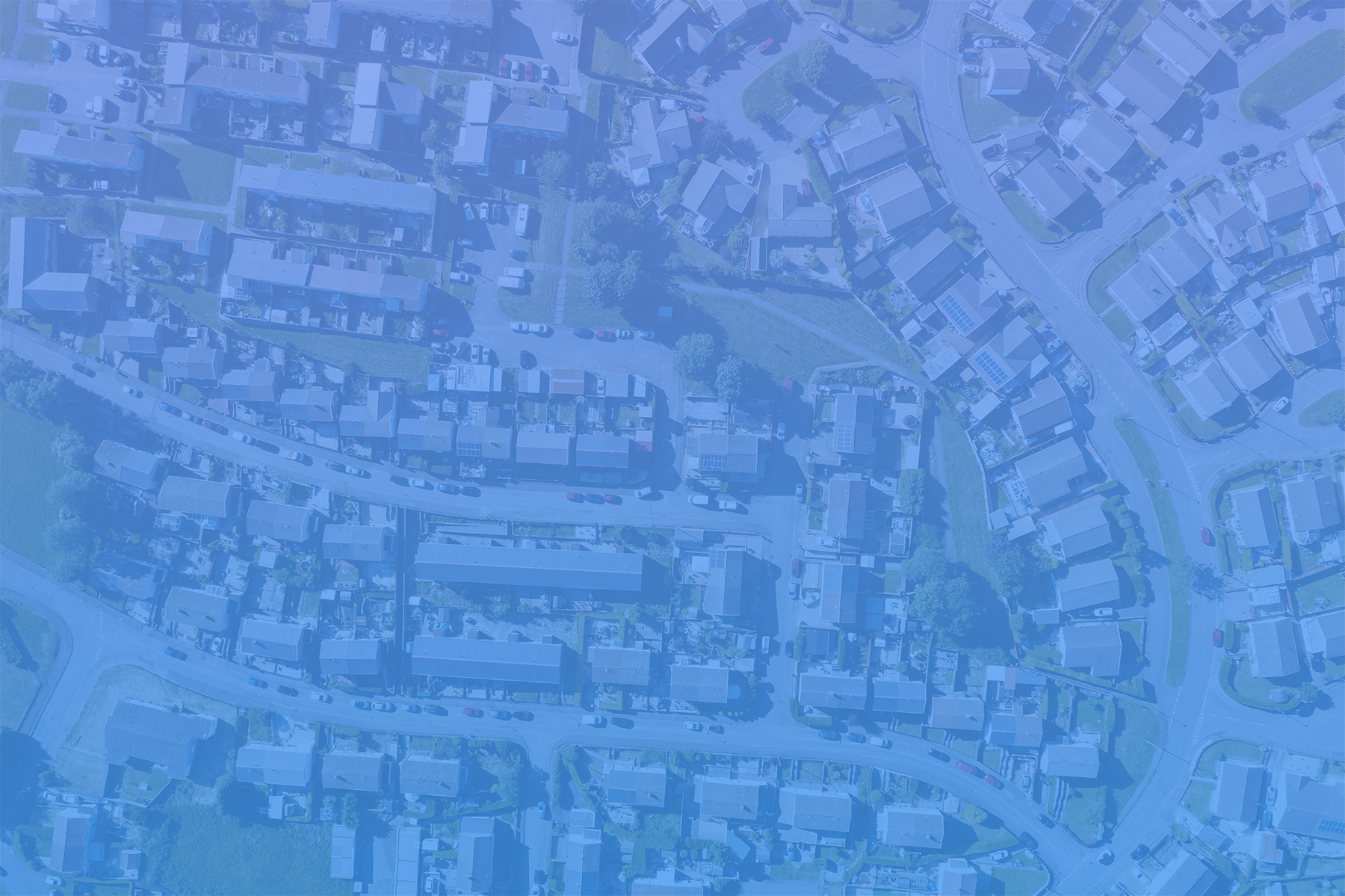 real estate leads birds eye view neighborhood blue ovrly sm