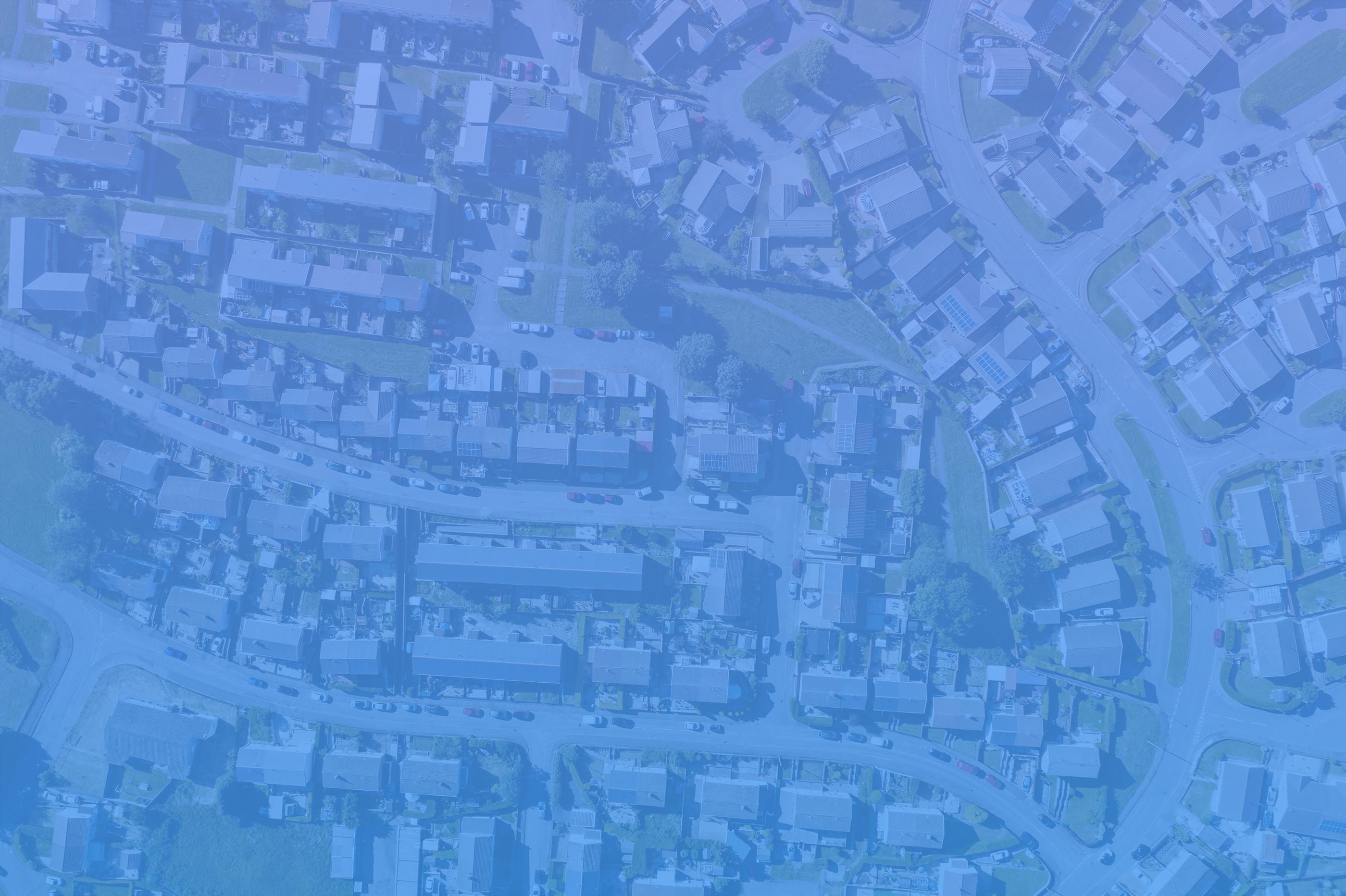real estate leads birds eye view neighborhood blue ovrly-1